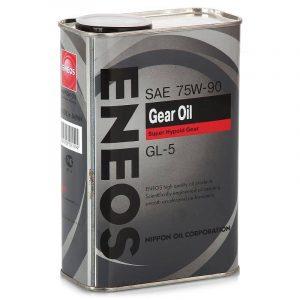 Масло трансмиссионное ENEOS GEAR 75W-90 GL-5 0.94л