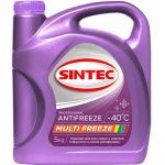 Уникальный антифриз от компании SINTEC